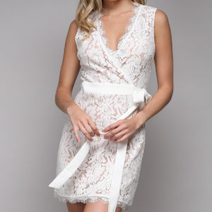Do+Be - White Lace Dress